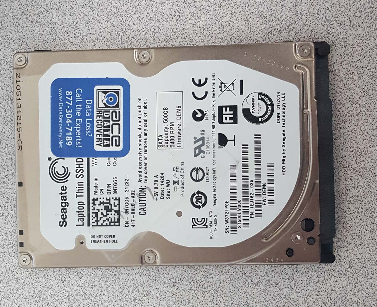 Hard Drive Recovery ST500LM000