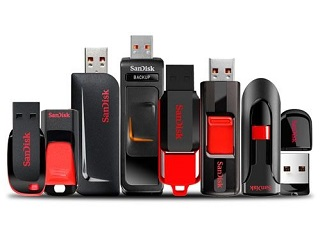 SanDisk USB Drives data recovery