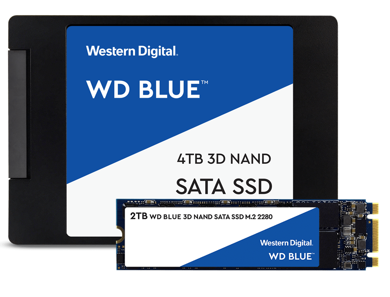 WD SSD Blue data recovery