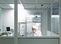 Data Recovery Services Clean Room