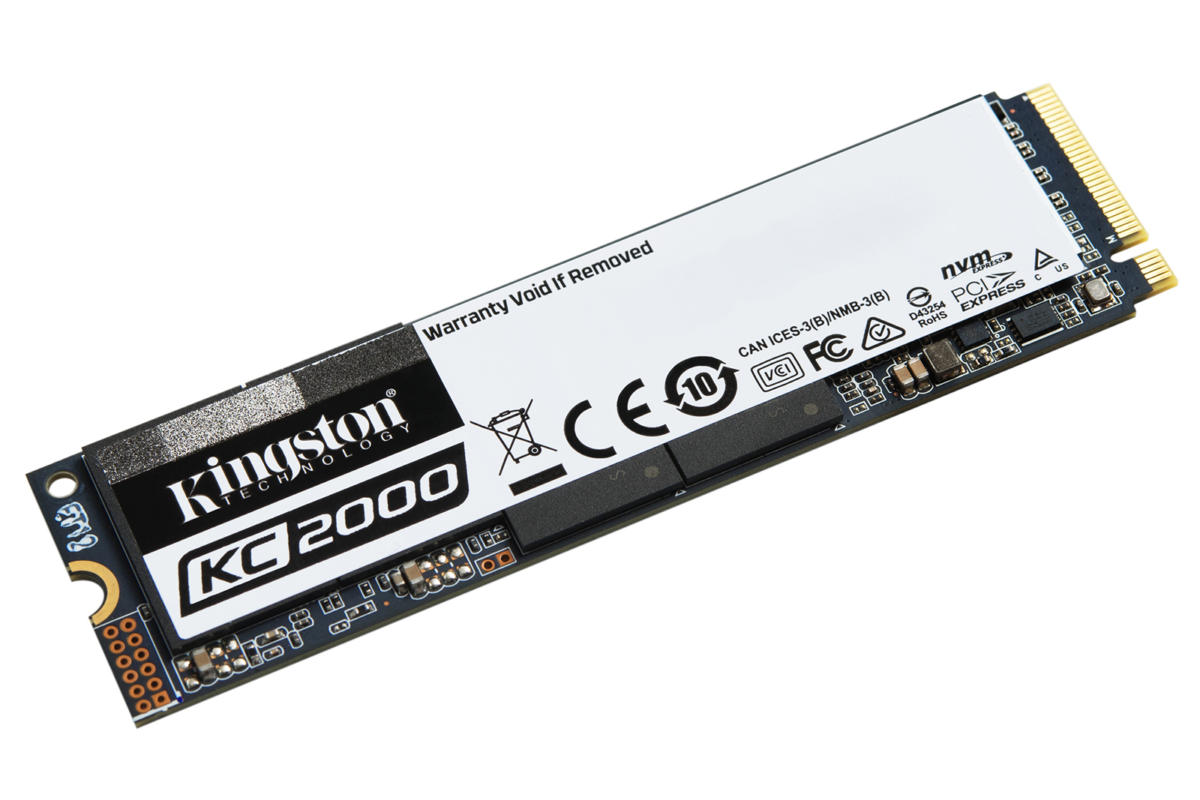 Kingston KC2000 M.2 NVMe SSD