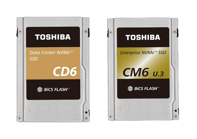 Data Recovery Toshiba CD6 and CM6 SSD